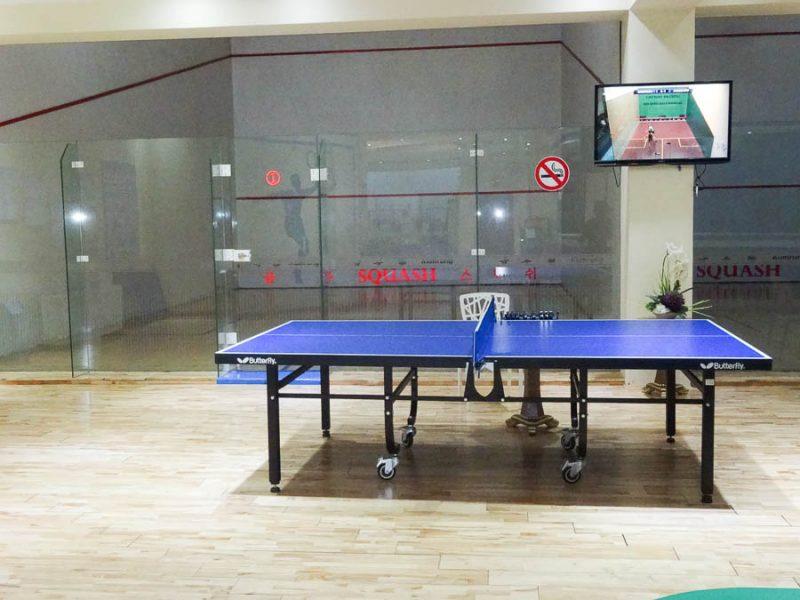 Ping Pong And Squash